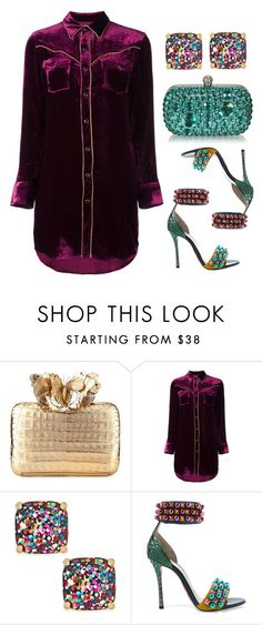 """""""Holiday Chic: Mini Dresses"""" by razone ❤ liked on Polyvore featuring Nancy Gonzalez, Yves Saint Laurent, Kate Spade, Christian Louboutin, minidress, polyvoreeditorial and polyvoreset"""