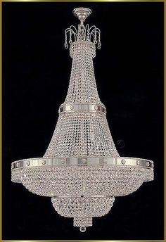 Large Crystal Chandeliers Gallery Model: CS 7115 CH