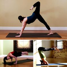 Yoga Poses to combat jiggly arms with this dynamic yoga sequence, just did this, or most of it some are too advanced for me and you can feel the burn my arms are going to be killer in a few weeks!!