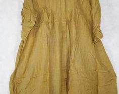 bolsillo grande primavera Vestido de algodón y lino gran by MaLieb | Etsy