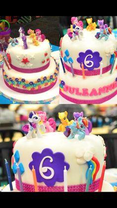 Little Pony Themed Cake