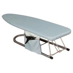 Crafted to fit space-saving tabletop ironing boards, this cover includes a side pocket to hold spray starch within arms reach. Tabletop Ironing Board, Ironing Board Covers, Ironing Boards, Laundry Station, Iron Board, Joss And Main, Outdoor Furniture, Outdoor Decor, Space Saving