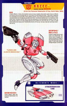 Transformer of the Day: Arcee