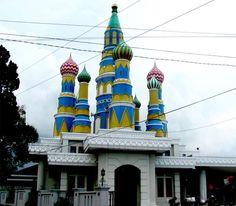 Kubah Masjid An Nurumi, Jogjakarta, Indonesia