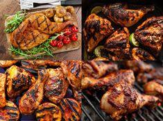 طريقة عمل الدجاج المشوى على الفحم بعشرة تتبيلات مختلفة ورائعة ستدهشك بكل تأكيد! Braised Chicken, Tandoori Chicken, Iranian Food, Cooking Recipes, Healthy Recipes, Middle Eastern Recipes, Arabic Food, Mediterranean Recipes, Chicken Recipes