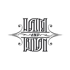 ambigram - IAN and tristan