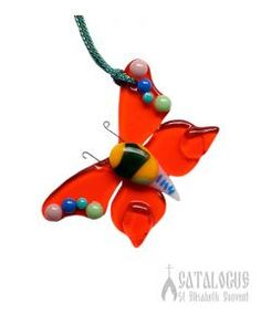 Butterfly.  $4.00.#CatalogOfGoodDeeds #CatalogOfStElisabethConvent #gift #present #giftideas #decor #craft #woodencraft #ceramic #clay #bell #ecotoy #decoration #feast #giftsfriend #uniquegifts #homemadegifts
