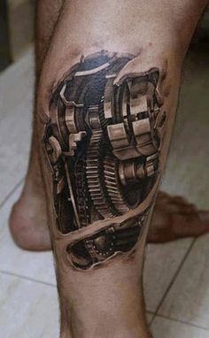 Tattoo Artist - Dmitriy Samohin | www.worldtattoogallery.com/biomechanical_tattoo