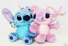 Panna House: Stitch Angel magnet plush Tokyo Disney Resort limited Stitch Angel Plush Limited in Tokyo Disney Resort Lilo Ve Stitch, Disney Stitch, Frozen Disney, Peluche Stitch, Toothless And Stitch, Disney Stuffed Animals, Stitch And Angel, Cute Stitch, Kawaii Plush