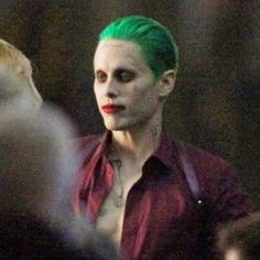 Pictures Of Jared Leto As The Joker On The Suicide Squad Set