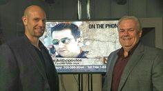 With Jean Gilles Laroque & Alex Anthopoulos