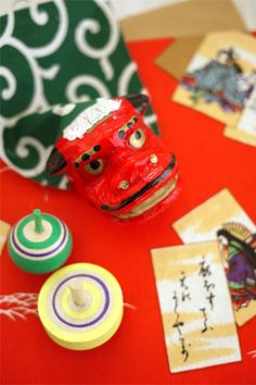 Japanese new year's games.....I still have these and use them with my students when we do a unit on Japan. These toys never get old!