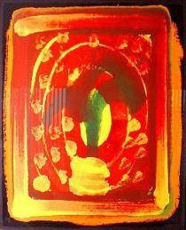 Howard Hodgkin, Still Life, Deutsche Bank Collection. Howard Hodgkin, Silk Screen Printing, Museum Of Modern Art, Modern Prints, Art Fair, Art For Sale, Still Life, Pop Art, Contemporary Art