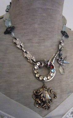 'summer's beauty' necklace by The French Circus on Etsy