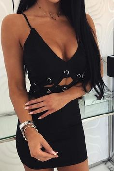 Spaghetti Strap Eyelet Lace-Up Bodycon Dress – streetstylepop Lace Up Bodycon Dress, Order Checks, Eyelet Lace, Spaghetti, Camisole Top, Fashion Dresses, Tank Tops, Shopping, Collection
