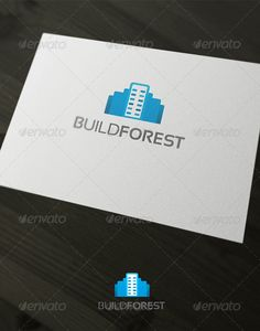 Build Forest Logo Design Template Vector #logotype Download it here:  http://graphicriver.net/item/build-forest/2347012?s_rank=1773?ref=nexion