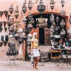 WEBSTA @ gypsea_lust - Exploring the ancient streets of Marrakech with @pennyskateboards#PennyAdventures