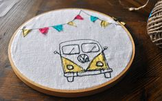 Happy camper, sewing project no. 1