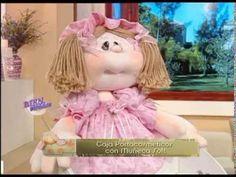 Silvia Nieruczkow - Bienvenidas TV - Realiza una Muñeca de Tela. - YouTube