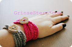 GrinseStern: Häkelarmband {DIY} ...