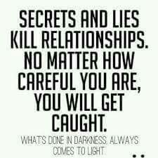 Secrets and Lies.The Truth Shall Prevail Truth Quotes, Wisdom Quotes, Quotes To Live By, Me Quotes, Funny Quotes, Qoutes, Lying Quotes, Quotes About Lying, Funny Facts