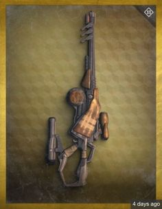 Sorta acts as a Wire Rifle, only it has two different scopes. Destiny Xbox One, Destiny Poster, Destiny Game, Destiny Fallen, Destiny Bungie, Steampunk Weapons, Future Weapons, Cool Gear, Ghost In The Shell