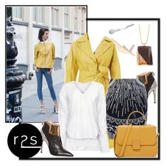 """."" by runway2street ❤ liked on Polyvore featuring De Siena, PINGHE and Liza Belachew"