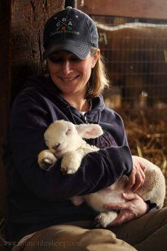 I'd love cuddling this little lamby pie!