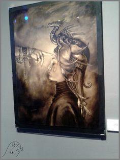 Muestra Arte Dragon de Ciruelo, Konex, Buenos Aires, Argentina