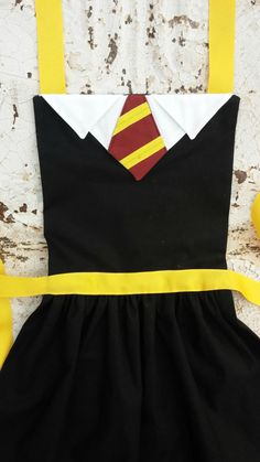 Adult HARRY POTTER Costume Apron Pdf by QueenElizabethAprons
