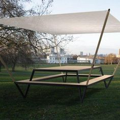 Duffy London - Yacht Table and Benches