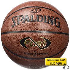 Spalding NBA Neverflat In/Out Balón de baloncesto, Unisex adulto, Ladrillo, 7 #balon #basket