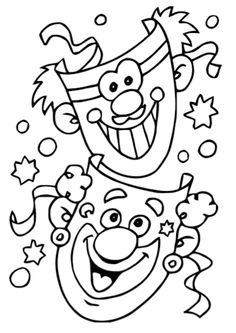 Free coloring pages of carnival Free coloring pages carnival – Circus Crafts, Carnival Crafts, Kids Carnival, Colouring Pages, Coloring Sheets, Adult Coloring, Coloring Books, Free Coloring, Theme Carnaval