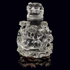 Chinese Rock Crystal Covered Vase, Late Qing Dynasty | Alain.R.Truong