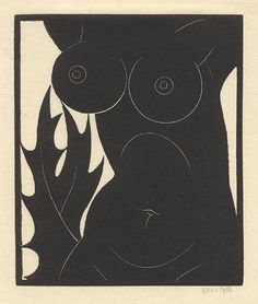 The Thorn in the Flesh by Eric Gill