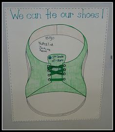 We Can Tie Our Shoes Chart