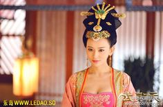 """Hanfu: traditional Chinese costume. This scene comes from """"The Empress of China""""."""