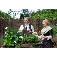 A Little Chaos. Alan Rickman and Kate Winslet.