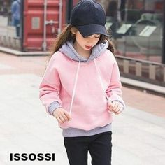 00250 - Teenage Girl Hoodies Winter Sweatshirt Sweater Teen Girl Outfits, Outfits For Teens, Summer Outfits, Casual Outfits, Summer Clothes, Hoodie Pattern, Jacket Pattern, Valentine's Day Outfit, Winter Hoodies