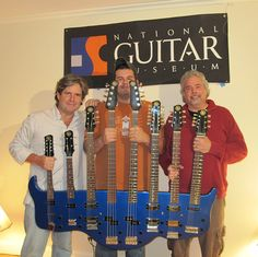 Epic 8 neck guitar (designed by Gerard Huerta)