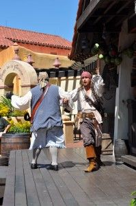 Birthday ideas for boys at #Disney: The Pirates League at Magic Kindgom