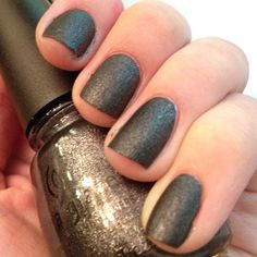 China Glaze 'Stone Cold'.  Supposed to represent District 2 which is masonry. This one is my favorite.
