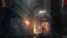 Battlefield 1 : L'armée française arrive!  #artwork #Battlefield1