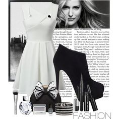 Untitled #52 by zjay4life on Polyvore featuring polyvore fashion style Giuseppe Zanotti Miss KG Clinique Deborah Lippmann