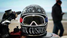 Custom bitwell gringo helmet