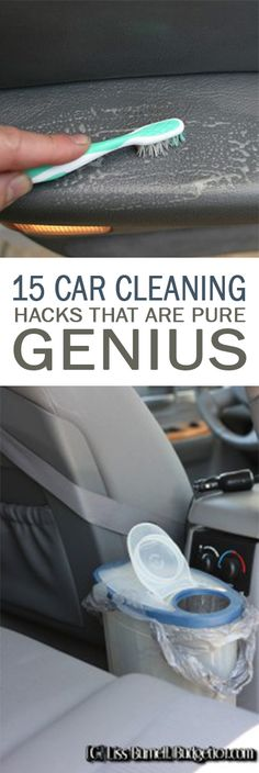15 Car Cleaning Hacks that Are Pure Genius