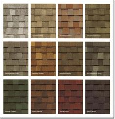 Did you know-- the color of your roof affects the energy efficiency of your home? Dark colors pull in heat & are great for really cold climates. Light colors reflect heat, making it that much easier to cool the interior of a home during warm months.