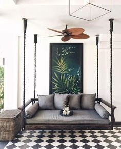 After so much work, especially durings summer,  you need to think about a good vacation and a lot of relaxing moments at home. That's why you need to find that perfect corner for a dreamy nook. From a swing, to comfy chairs, big pillows or a bench, it's easy to create the perfect dreamy nook. Here are ten amazing nook ideas: