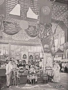 Chicago Dünya Fuarında Osmanlı Galerisi. Ottoman Exhibitions at the Chicago World fair - 1893