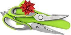 Kitchen Scissors By Simple Health Dishwasher Safe Poultry Shears with Multifunction Come Apart Can Opener and Nut Cracker for Quick and Easy Cooking Heavy Duty Stainless Steel >>> Check this awesome product by going to the link at the image.